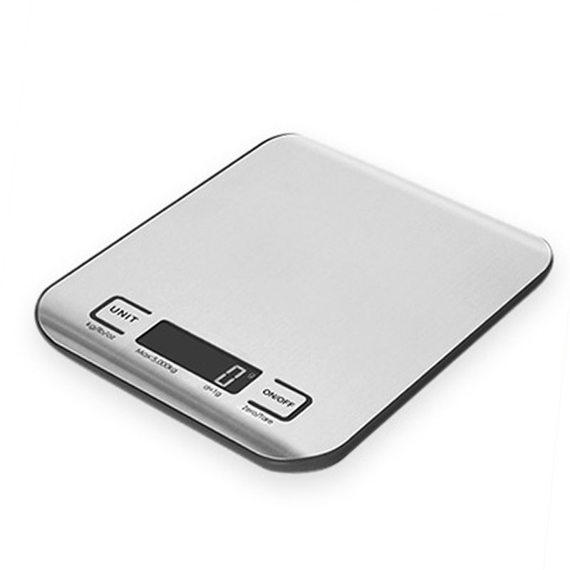 5KG Slim Stainless Steel Digital Kitchen Scale